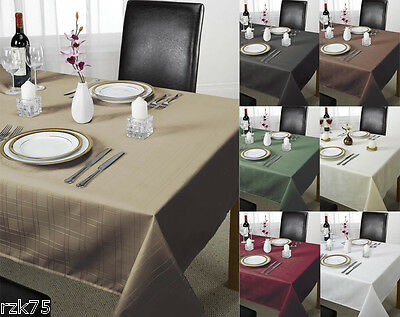 £7.95 • Buy Chequers Table Cloth, Designer Table Cloths And Linen, Many Colours & Sizes