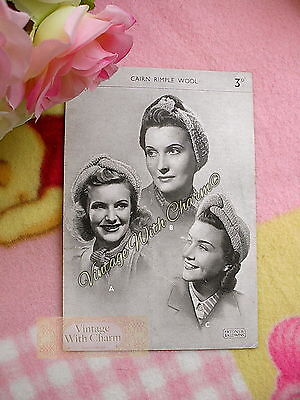 Vintage 1940s 3 Styles Lady's Turban 'Roll, Scarf & With Crown' Knitting Pattern • 1.99£