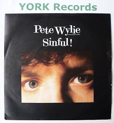 PETE WYLIE - Sinful - Excellent Condition 7  Single • 3.99£