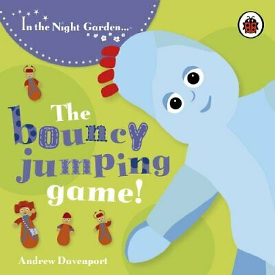 Igglepiggle :The Bouncy Jumping Game (In The N... By Andrew Davenport Board Book • 3.99£