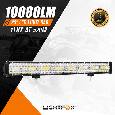 AU49.95 • Buy 23Inch Cree Led Light Bar Spot Flood Combo Driving Lamp SUV Truck Offroad 4X4