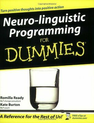 £3.59 • Buy Neuro-Linguistic Programming For Dummies By Burton, Kate Paperback Book The