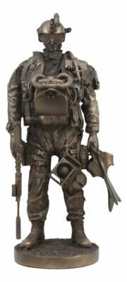 $75.99 • Buy Large Military Navy Seal Statue 12.75 Tall Special Task Force Unit Soldier