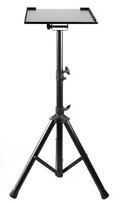 AU69 • Buy Heavy Duty Tripod Stand For Laptop Projector / Adjustable Height & Tilt Tray