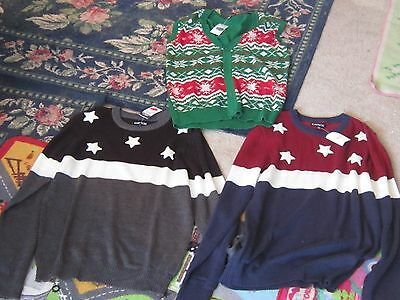 $16.95 • Buy NWT Mens Ugly Christmas Sweater Vest Or Fourth Of July Flag Sweater M L