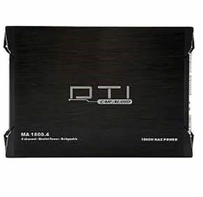 $59.95 • Buy Dti Ma1800.4 4-channel 1800 Watts Class Ab Car Stereo Mosfet Amplifier