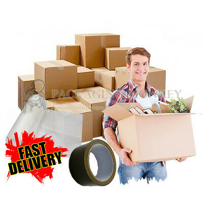 20 X XL LARGE Cardboard House Moving Boxes Removal Packing Storage Boxes *NEW* • 18.25£