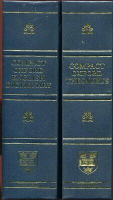 £8.49 • Buy Compact Oxford English Dictionary (Third Edition Revised) By Oxford Press Book