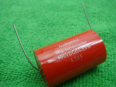 AU33.44 • Buy 20 Audiophiler MKP 4.7uF 400V 12V Audio Grade Capacitor