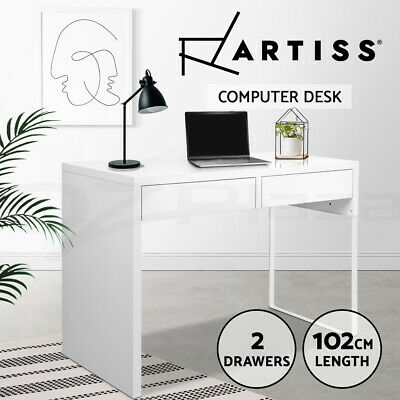 AU149 • Buy Artiss Office Computer Desk Study Table Home Student Storage Drawers Laptop