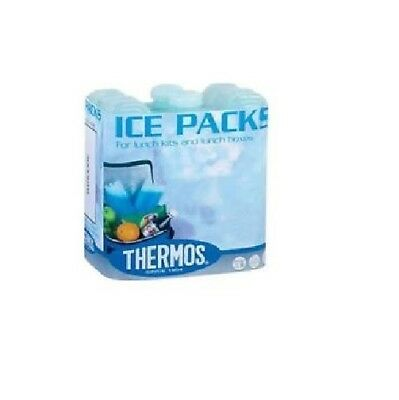 Thermos Pack Of 2 Mini Ice-Packs Blocks Ideal For Lunch Boxes 2 X100g • 4.98£