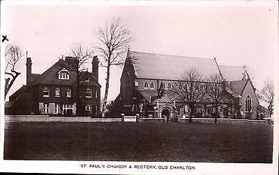 £11 • Buy Charlton. St Paul's Church & Rectory By H.L.Coleing, P.O., Old Charlton.