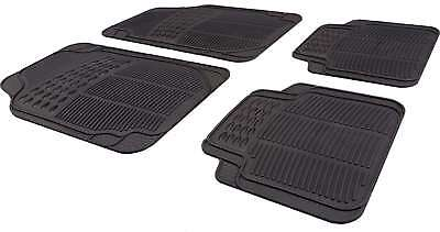 Rubber/ Carpet /Deep Floor Car Mats For Renault Clio, Megane, Laguna, Kangoo • 9.49£