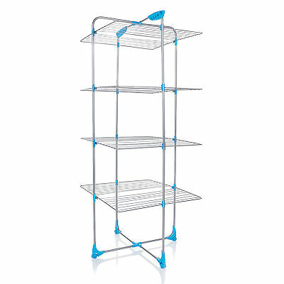 £29.99 • Buy Minky Tower Indoor Airer 40m Drying Space - Silver