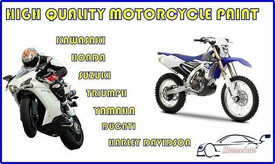 Motorbike Cycle Spray Paint, Touch Up, Aerosol Basecoat, Lacquer, 3 Stage YAMAHA • 17.99£