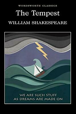 The Tempest (Wordsworth Classics) By Shakespeare, William Paperback Book • 3.59£