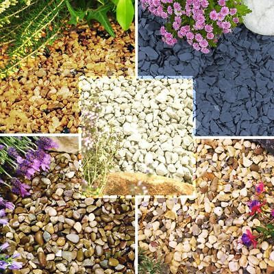 £6.99 • Buy 1 To 30kg Gravel Chippings Deter Weed Garden Path Patio Pathway Plant Top Stone
