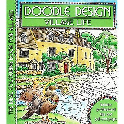 Village Life (Doodle Design S.) Paperback Book The Cheap Fast Free Post • 5.99£