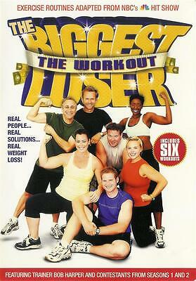 The Biggest Loser ~ The Workout ~ Bob Harper ~ New Sealed DVD ~ FREE Shipping • 9.30£