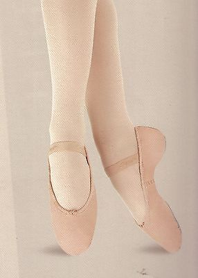 $17.91 • Buy NWT CAPEZIO Daisy #205 Ladies Sizes BPink Full Sole Attached Elas Ballet Shoes