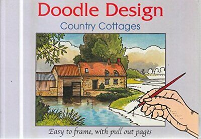Countryside Scenes/Country Cottages (Doodle Design S.) Paperback Book The Cheap • 5.49£