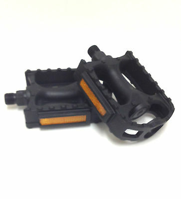 $9.95 • Buy Sunlite 41200 Mountain Mtb Atb Bicycle Bike Pedals Nylon Cage1/2  Pair New