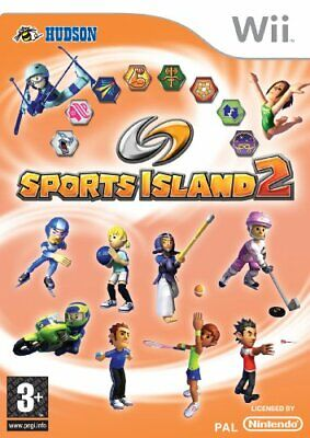 Sports Island 2 (Wii) - Game  80VG The Cheap Fast Free Post • 10.64£