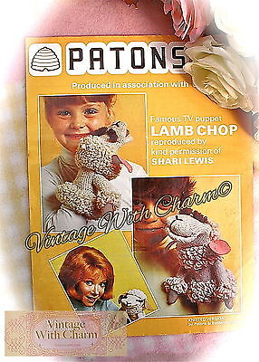 £1.99 • Buy  Knitting Pattern & Crochet Pattern For Lamb Chop The Hand Puppet JUST £1.99!