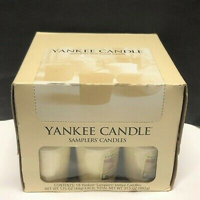 (G-O) 18 Yankee Candle VOTIVE CANDLES By The CASE - Scent CHOICES New & Retired • 54.02£
