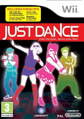 Just Dance (Wii) - Game  V0VG The Cheap Fast Free Post • 4.42£