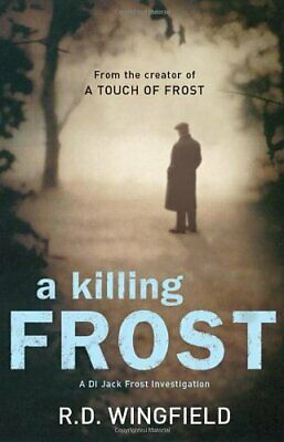 A Killing Frost By Wingfield, R D Hardback Book The Cheap Fast Free Post • 4.49£