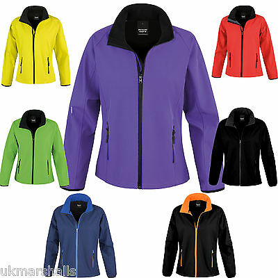 £18.06 • Buy Result Core Ladies Soft Shell Jacket - S To XXL - RS231F - 7 GREAT COLOURS