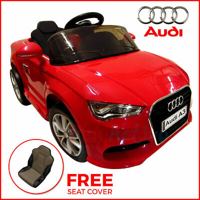 Kids Ride On Audi A3 Licensed 12v Car Remote Control Twin Motor Battery Cars  • 119.99£