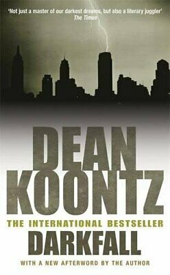 £2.24 • Buy Darkfall (Darkness Comes) By Koontz, Dean Paperback Book The Cheap Fast Free