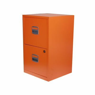 Bisley Metal Filing Cabinet 2 Drawer A4 • 52.99£