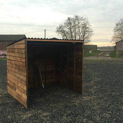 Animal Field Shelter  7ft X 6ft X 6ft6 High Pony Cow Sheep Goat - Free Shipping • 299£