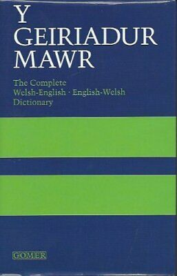 £4.99 • Buy Geiriadur Mawr: Complete Welsh-English, English-Welsh Dictionary Book The Cheap