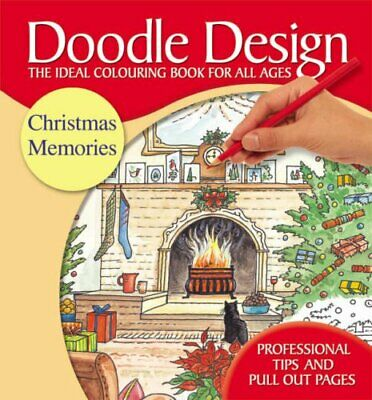Christmas Memories Doodle Design: AND Festive Christmas Doodle... Paperback Book • 5.99£