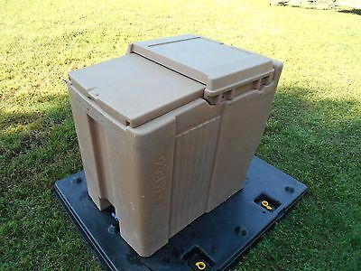 $385 • Buy Military Surplus Cambro  Ice Chest Box Cooler  Kitchen Trailer Army Camping