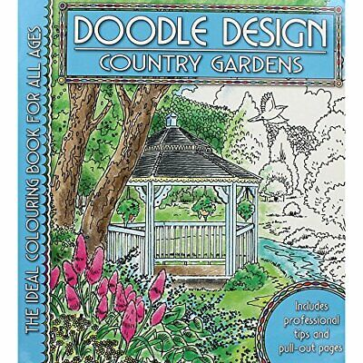Country Gardens (Doodle Design S.) Hardback Book The Cheap Fast Free Post • 6.49£