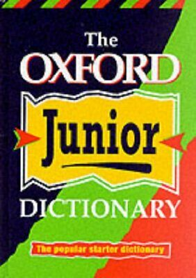 OXFORD JUNIOR DICTIONARY (NEW ED) Hardback Book The Cheap Fast Free Post • 4.49£