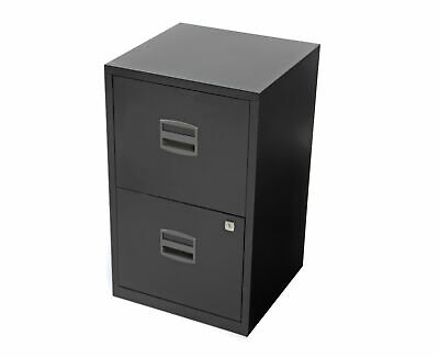 Bisley Metal Filing Cabinet 2 Drawer A4 H670xW410xD400mm • 49.97£