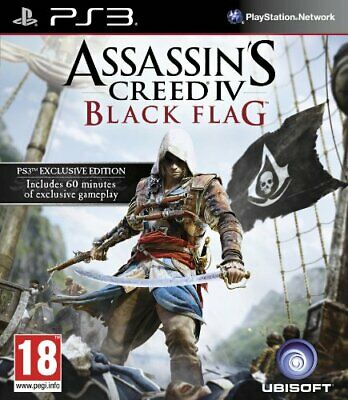 Assassin's Creed IV: Black Flag (PS3) - Game  5MVG The Cheap Fast Free Post • 5.47£