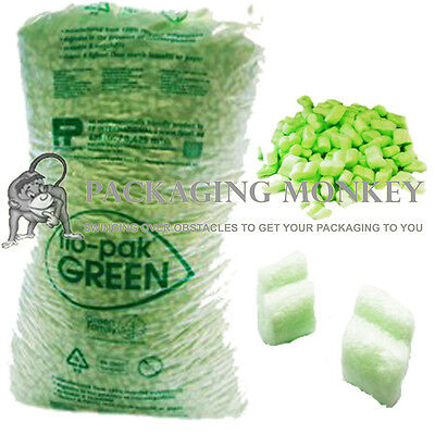 £71 • Buy 45 Cubic Feet Of FLOPAK Loose Fill Packing Peanuts FAST
