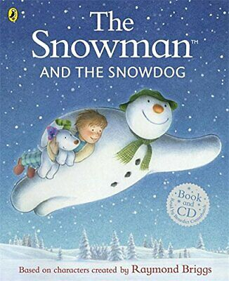 The Snowman And The Snowdog By Briggs, Raymond Book The Cheap Fast Free Post • 3.99£