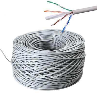 £19.95 • Buy 100m Outdoor Cat 6 Ethernet Network Cable External Gigabit LAN Networking Lead