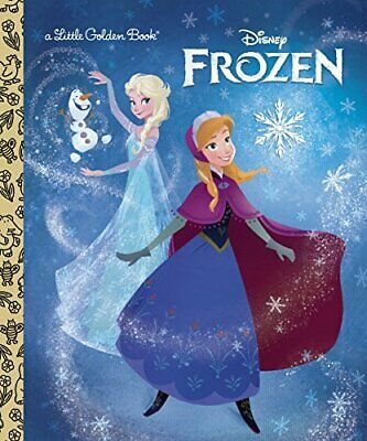 £3.49 • Buy Frozen (Little Golden Books) By Saxon, Victoria Book The Cheap Fast Free Post
