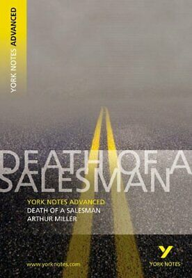 Death Of A Salesman (York Notes Advanced Series) By Adrian Page Paperback Book • 3.59£