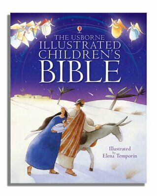 £5.49 • Buy Illustrated Children's Bible (Usborne Bibles) By Various Hardback Book The Cheap