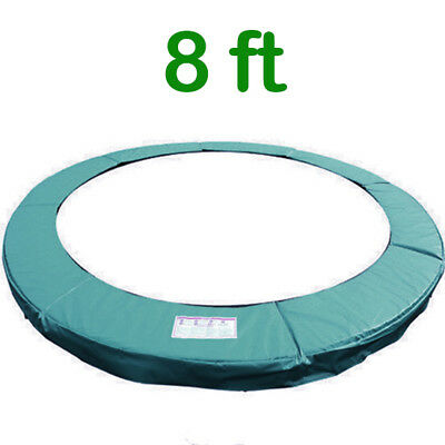 £36.95 • Buy Trampoline Replacement Pad Safety Padding Spring Cover 8ft Green